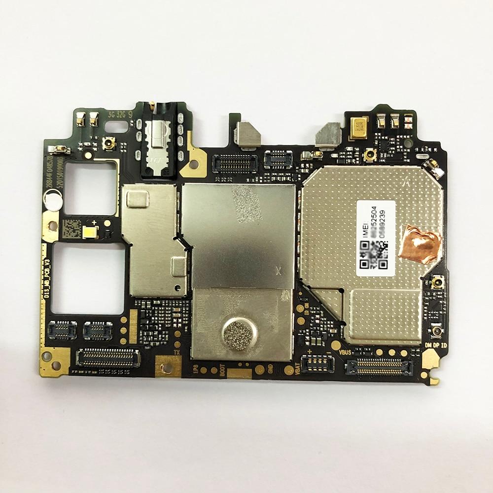 لوحة أم أصلية لهاتف شاومي Mi A2 Lite لوحة أم بنظام تشغيل أندرويد 3 + 32 جيجابايت