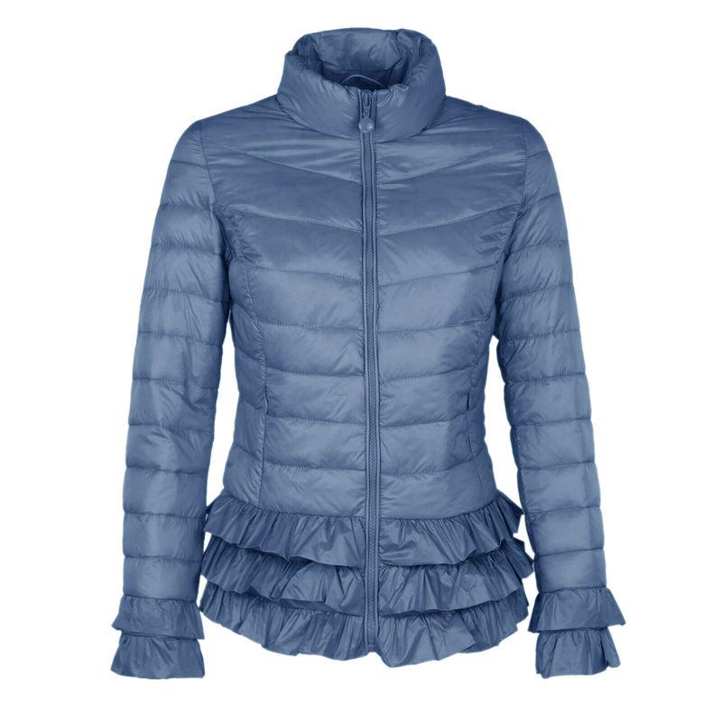 ZOGAA Winter Parkas Women's Coat Female Warm Thicken Jacket Women Solid Slim Parka Casual Stand Collar Zipper Plus Size Overcoat
