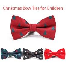 Nœuds de noël pour enfants chemise de noël, nœuds de qualité avec motif de neige, pour garçons, Festival