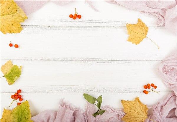 Fondos de fotografía personalizados de vinilo Prop flor tablones de madera paisaje tema fondo de estudio de fotografía M191112-03