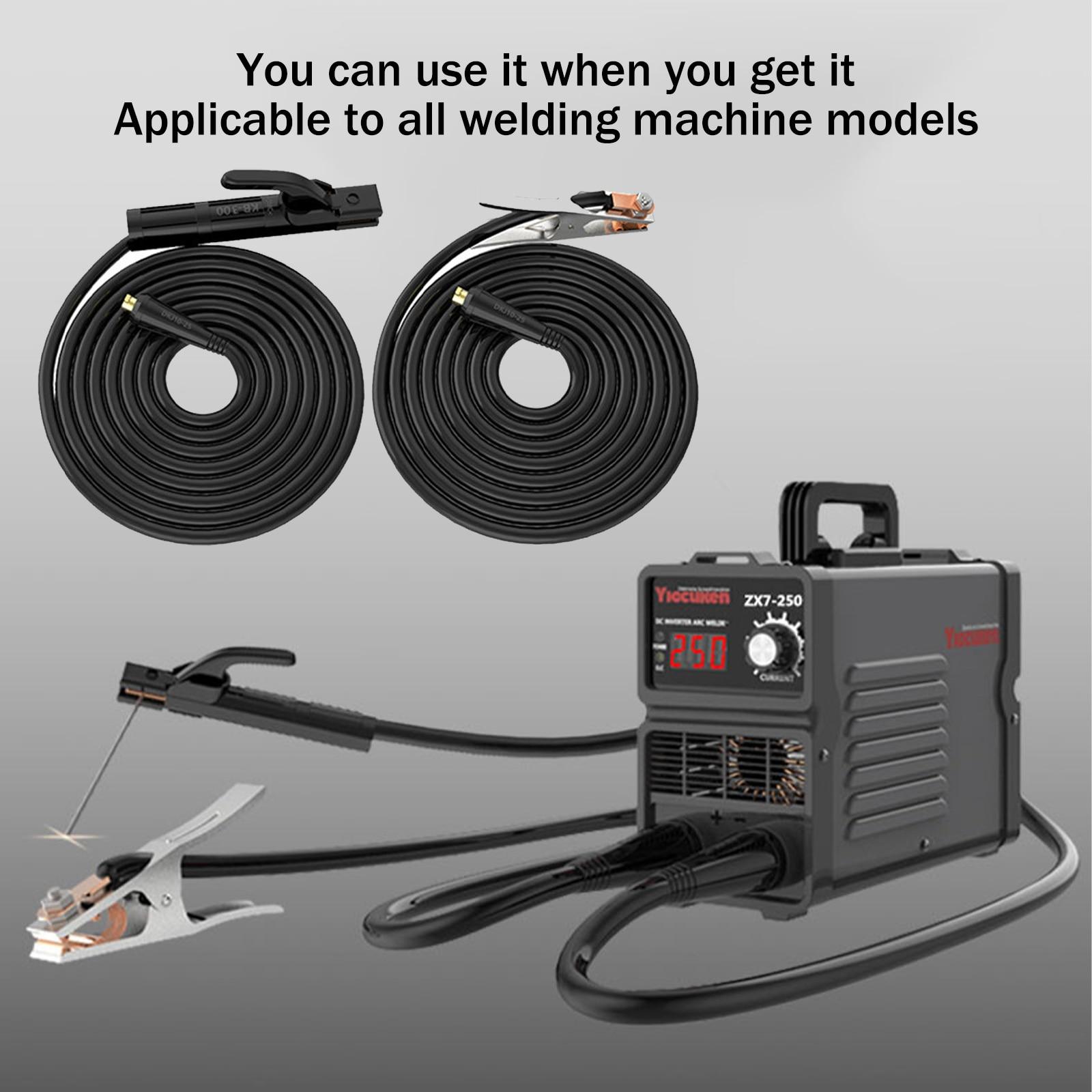 Профессиональный заземляющий сварочный зажим 200A, подходит для дуговой сварочной машины Mig Tig, кабель 1,5 м, разъем 10-25