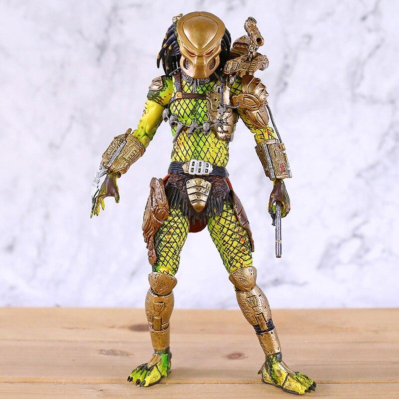 Predator 2 Elder el ángel dorado Ultimate PVC figura de Acción 7 modelo de juguete NECA