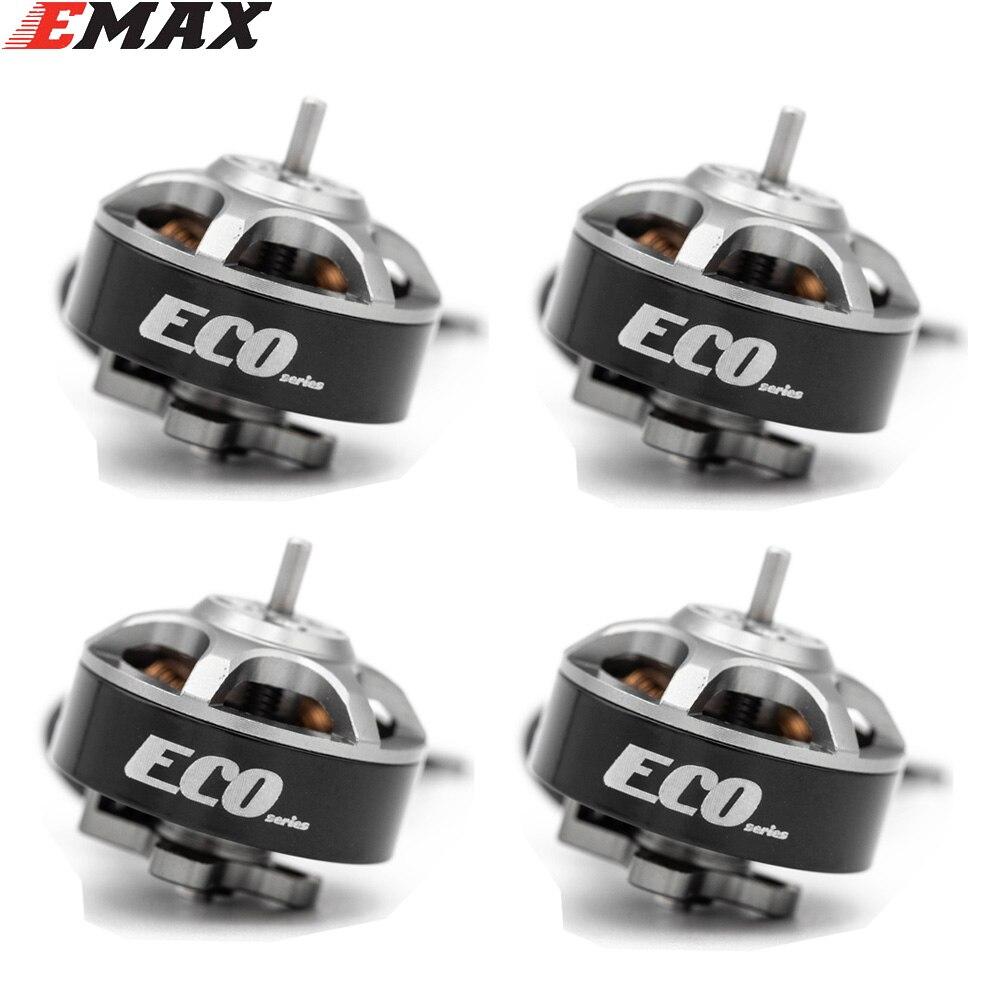 1PCS / 4PCS Emax ECO Micro Series 1404  2~4S 3700kv 6000kv Brushless Motor for FPV Racing Drone RC AirPlane