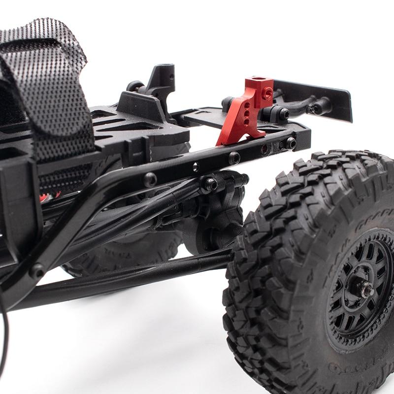 1 Pair Metal Aluminum Alloy Rear Suspension Bracket Shock Mount for Axial SCX24 90081 RC Car Upgrade Parts enlarge