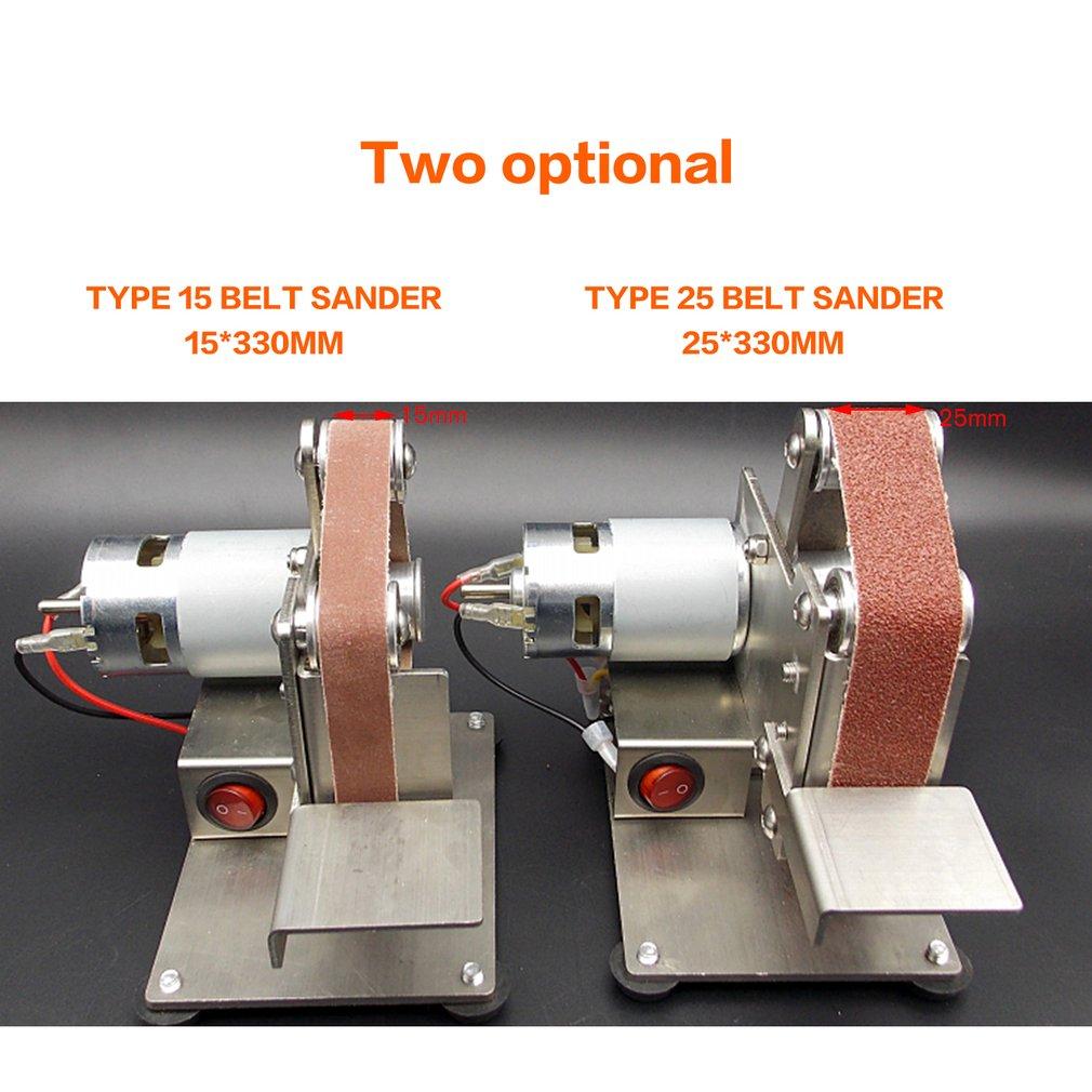 Moedor multifuncional Mini Elétrica Lixadeira Polimento Máquina De Moer Arestas de Corte Cinto Apontador Moedor Lixar Venda