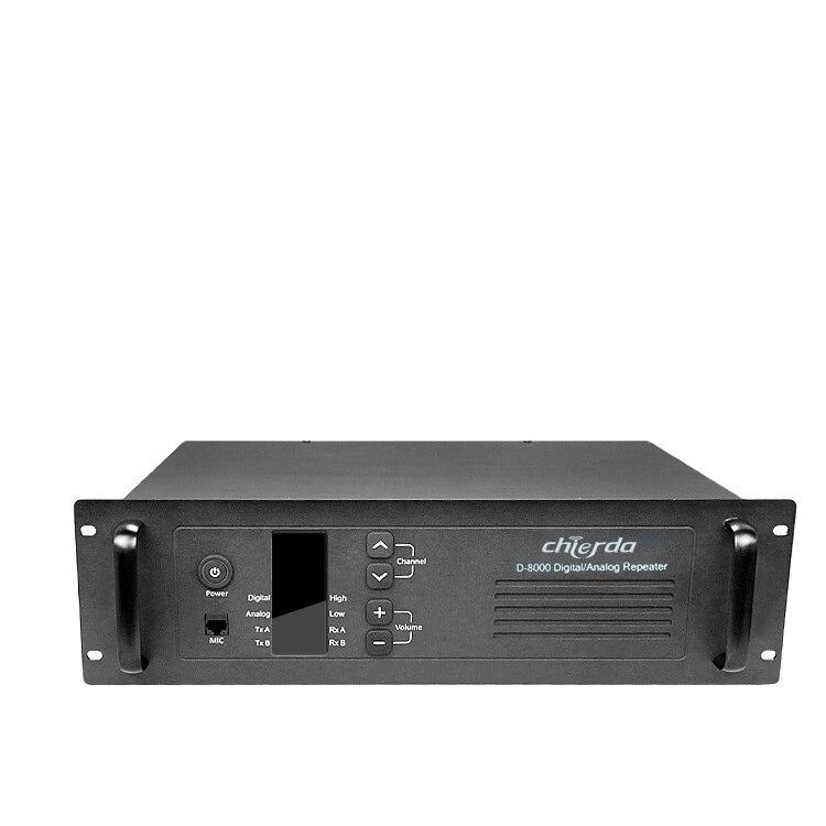 Chierda CD-D8000 عالية الطاقة 25 واط/55 واط المزدوج وضع DMR راديو رقمي مكرر VHF مكرر ل لاسلكي تخاطب