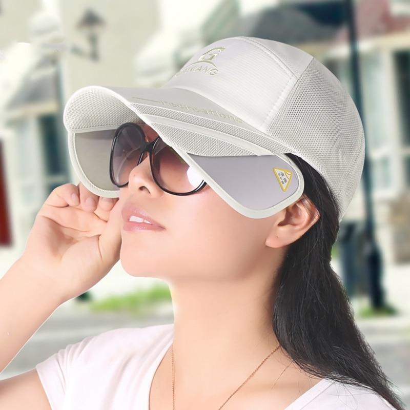 New Unisex Outdoor Running Hats Summer Flexible Sunshade Sunscreen Sun Hat Fishing  caps