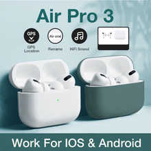 for airpoddings pro 3 Bluetooth Earphone Wireless Headphones HiFi Music Earbuds Sports Gaming Headset For IOS Android Phone