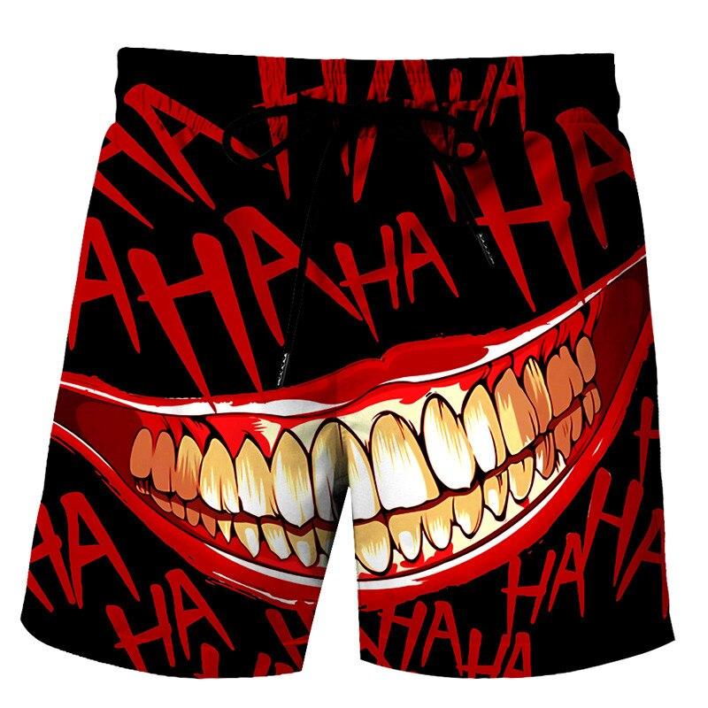 Самые модные летние мужские брюки унисекс, повседневные Модные мужские шорты с 3D-принтом глаз, спортивные шорты, пляжные повседневные шорты