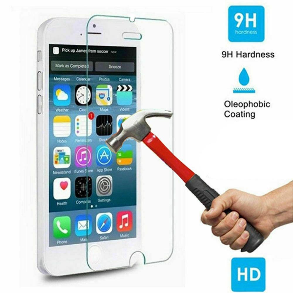9H HD vidrio templado para iphone X XS X Max XR 6 s 6 7 8 plus 5S 5 10 Protector de pantalla protectora de vidrio en iphone 7 6X8 de vidrio