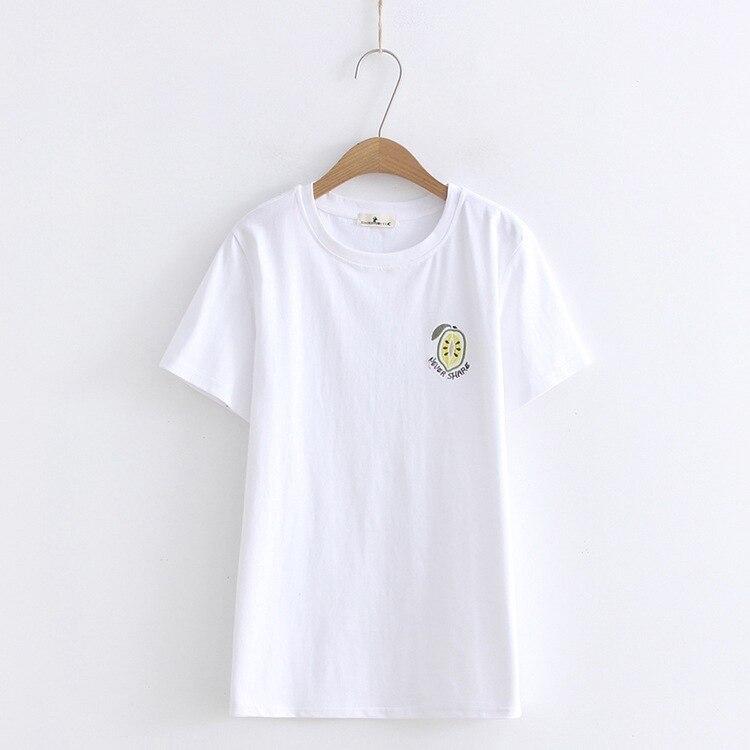 Spring Summer New Style Women Tshirt Print Short Sleeve Round Neck Cotton Women T-shirt