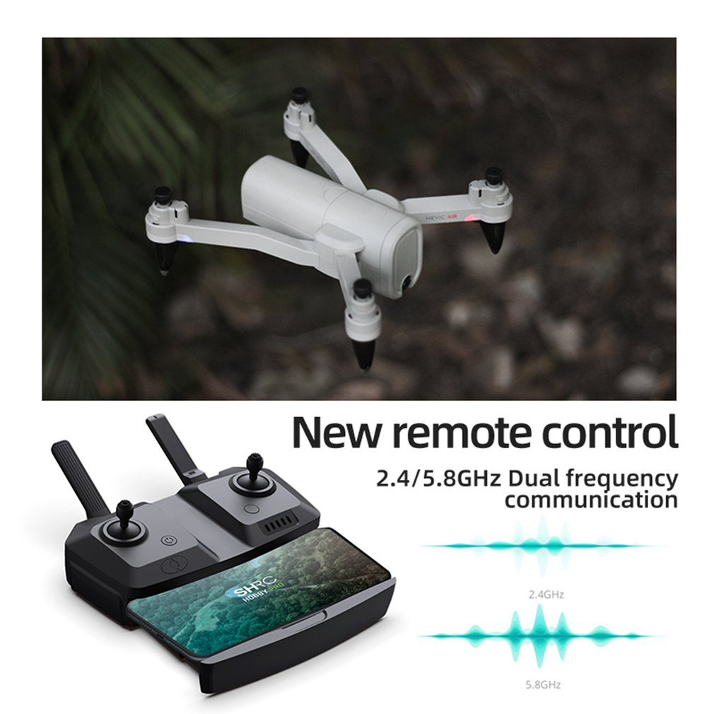 H6 RC Helicopter 5G GPS 6K HD Wide-angle Camera Aerial Photography Folding Remote Control Drone VR Split Screen Hight Hold Drone enlarge