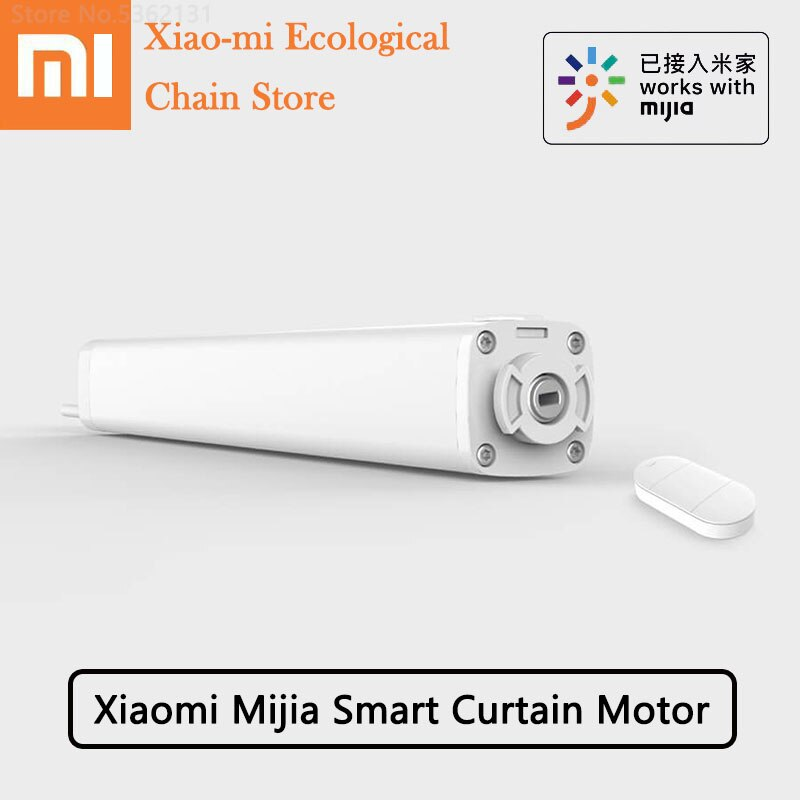 Xiaomi Mijia Motor de cortina inteligente Bluetooth Gateway L1 Control remoto monitoreo inteligente sincronización eléctrica Mi casa APP para Smart Home