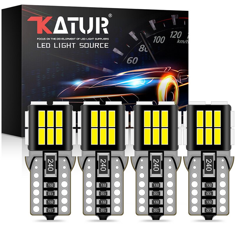 4 Uds T10 W5W bombillas led 194 led 168 luces de lectura para el auto, luces ámbar blanco rojo Iceblue para BMW, Audi, Mercedes benz