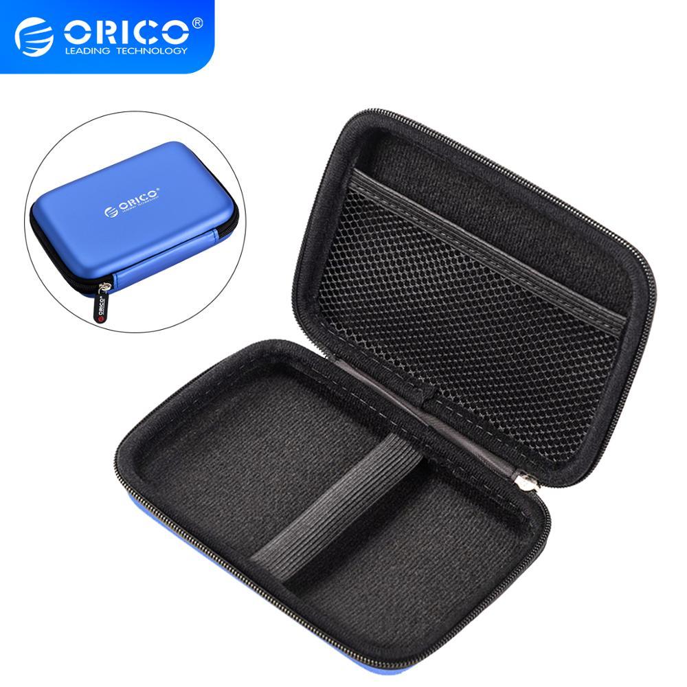 Портативный чехол ORICO PHB 2,5 дюйма для переноски жестких дисков, сумка для хранения жестких дисков, SSD, USB-кабеля, кардридер