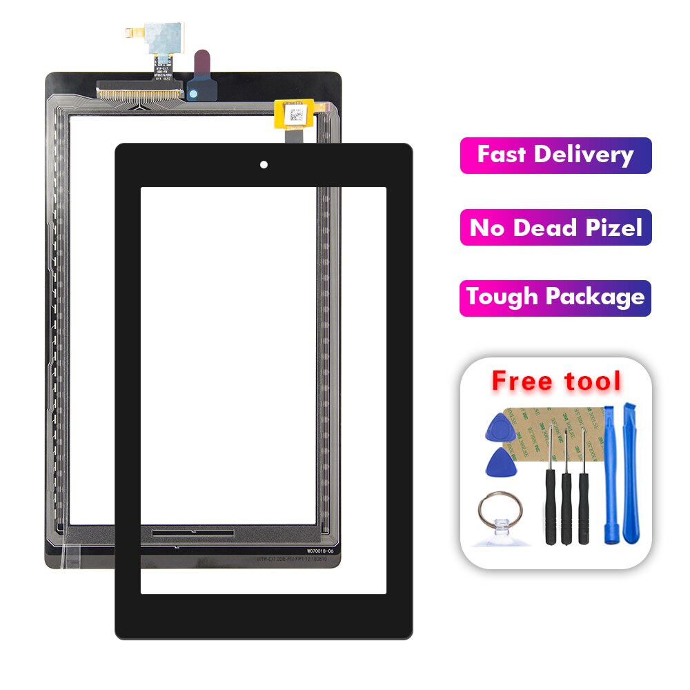 Para Amazon Fire HD7 2019 HD 7 2019 pantalla táctil cristal frontal digitalizador + herramientas