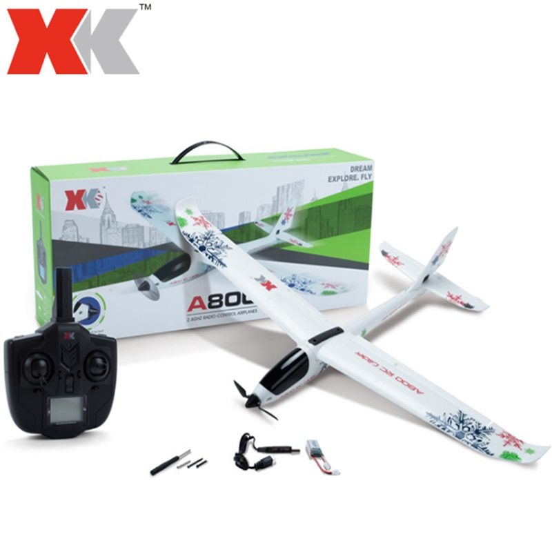 WLtoys RC Plane XK A800 4CH 780mm 3D6G System RC Glider Airplane Compatible Futaba RTF Push-speed Gliders Fixed Wing Plane Toys wltoys v911s rc helicopter 2 4g 4ch 6 aixs stunt gyroscope flybarless rtf 3 7v 250mah rtf bnf model toys lipo battery rc airplan