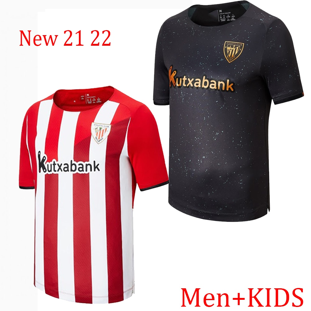 Camiseta del club Atlético de Bilbao para adultos y niños, kit de...