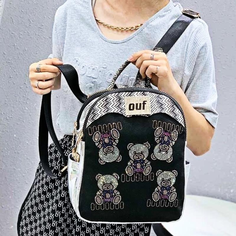 Mochilas Para Mujer Animal Prints Ita Women Backpack Luxury Travel New Girls Backpack for Girls Shoulder Bolsa Feminina