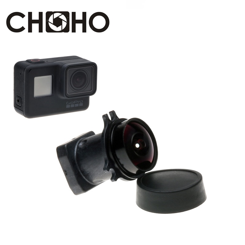 Reemplazo de lente para GoPro Hero 5, 6, 7, Accesorios Negros, gran...