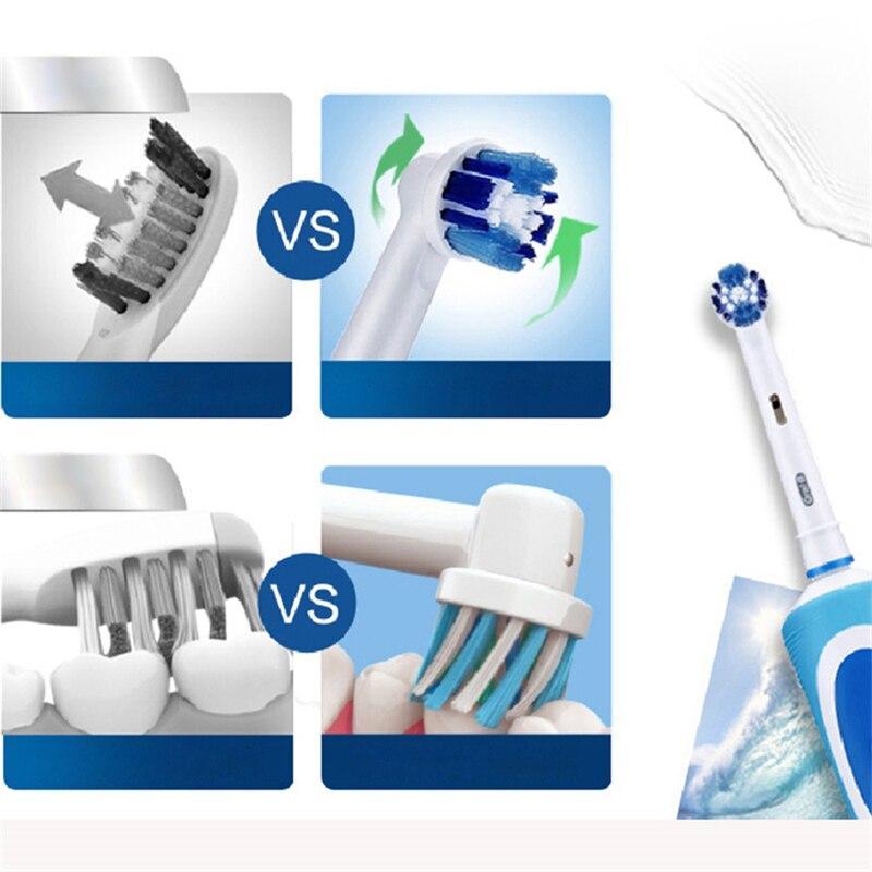 OralB Sonic Elektrische Tandenborstel D12 Vitaliteit Rachargeable Roterende Ultra Sonic Automatische Elektronische Tandenborstel enlarge