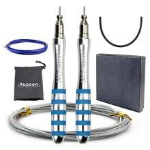 Скакалка Crossfit профессиональная скоростная Скакалка для ММА бокса, фитнеса, скакалки, тренировки с сумкой для переноски, запасной кабель