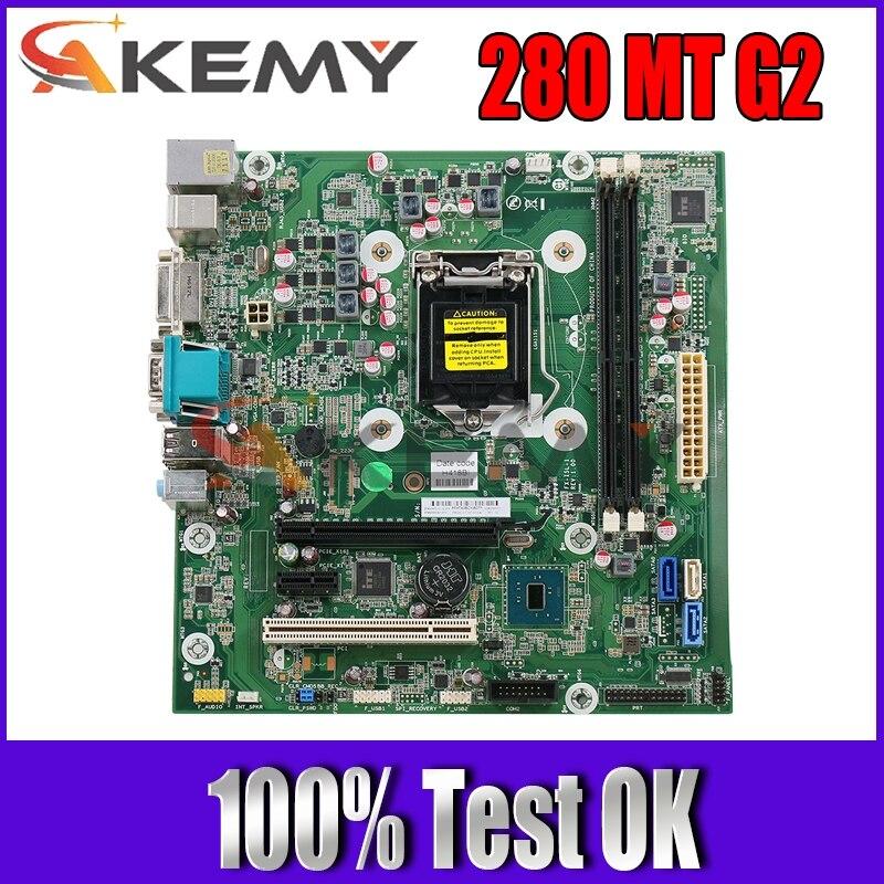 MB For HP 280 MT G2 سطح المكتب اللوحة 828984-001 828984-601 849953-601 849953-001 DDR4 اللوحة الرئيسية 100% اختبار سريع السفينة