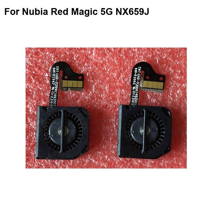وحدة مروحة التبريد ، استبدال الكابلات المرنة ، تم اختبار قطع الغيار لـ ZTE Nubia Red Magic 5G 2020 ، لـ Red Magic 5G NX659J