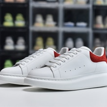 NZ0802 high quality Alexander men's and women's sneakers casual brand leather low-top fashion travel