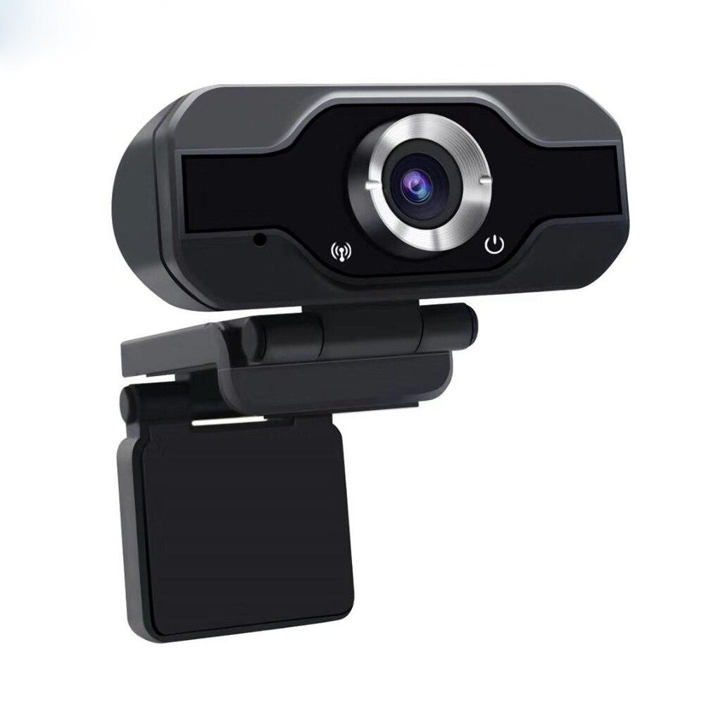 Full HD 1080P Pixels USB  Webcam Video Recording Camera Lens 360 Degrees Flexible Web Camera For PC Online Working TV Webcams