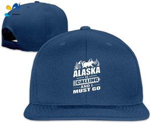 Yellowpods Alaska Is Calling I Must Go Men's Relaxed Medium Profile Adjustable Baseball Cap