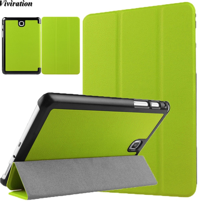 "Para Samsung Galaxy Tab A 9,7 pulgadas Tablet funda para Galaxy Tab un SM-T550 T555 SM-P550 P555 9,7 ""cuero de la PU inteligente Coque Shell"
