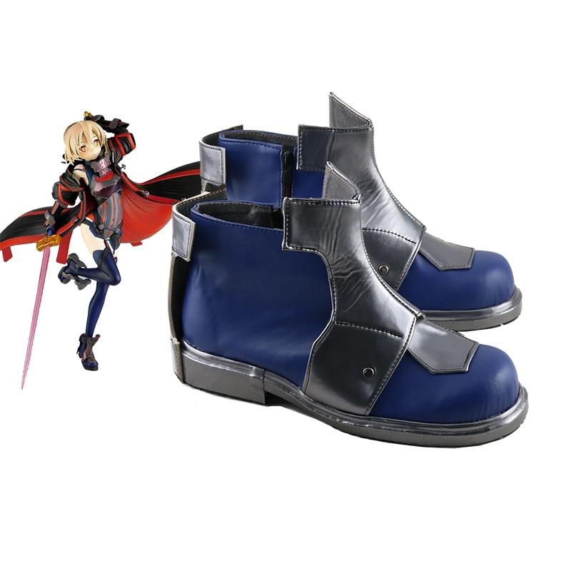 أزياء تنكرية للهالوين, أزياء تنكرية للجنسين أنيمي مصير/الطلب الكبير FGO alter أزياء الهالوين أحذية مصنوعة حسب الطلب
