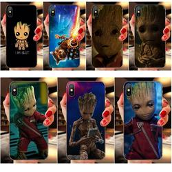 Marvel Guardians Of The Galaxy Para a Galáxia A10 A10S A20 A20S A20E A30 A30S A40 A40S A50 A50S S8 S9 S10 S20 Além Disso TPU Caixa de Chamada