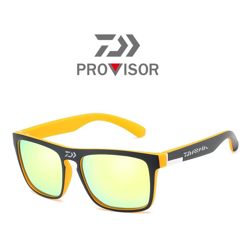 2020 Daiwa New Men's Polarized Fishing Glasses Summer Outdoor Mountaineering Fashionable Colorful Film Sports Sunglasses