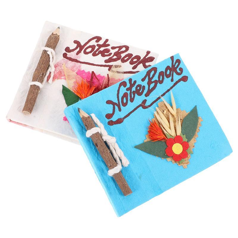 2 шт блокноты карманные блокноты мини блокноты студенческие канцелярские товары (случайный цвет)