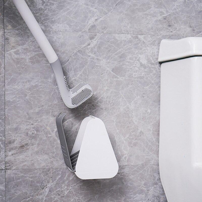 جولف شكل فرشاة المرحاض و حامل مقبض طويل فرشاة نظيفة عميقة ل المرحاض وعاء سيليكون شعيرات رئيس اكسسوارات الحمام مجموعة