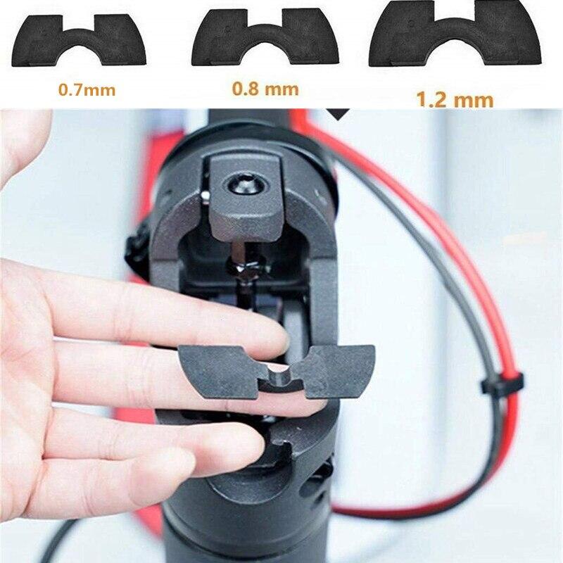 Modificado peças pólo garfo dianteiro vibração shake evitar amortecimento almofada de borracha dobrável para xiaomi mijia m365 scooter elétrico