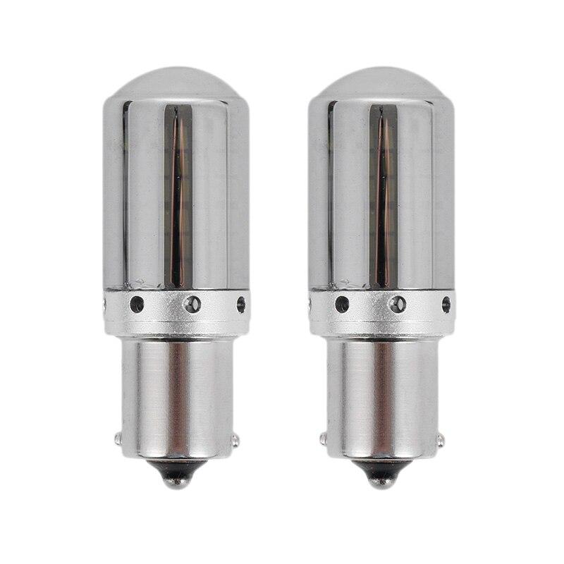 2Pcs Car Turn Signal Lights Brake Lamp with 144 SMD 3014 LED Lamp Bead Error Free No Hyper Flash 1156 BAU15S P21W