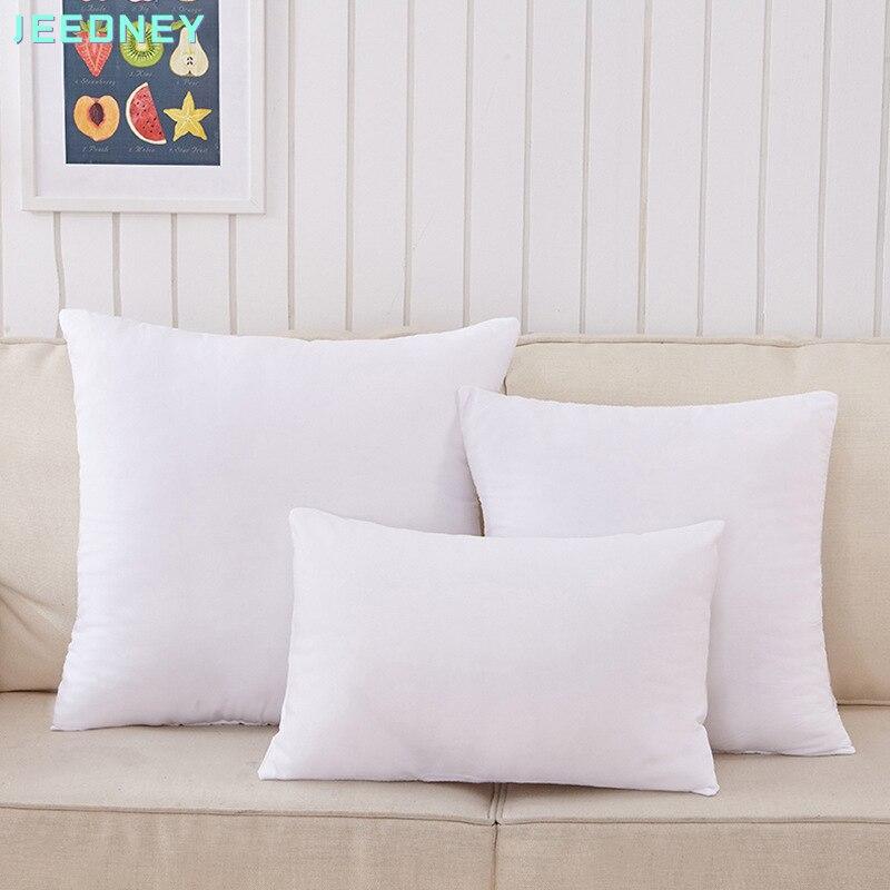وسادة أريكة ناعمة بدون غطاء ، وسادة مبطنة بدون غطاء ، 45 × 45 سم ، 50 × 50 ، وسائد صغيرة