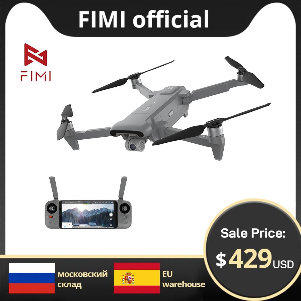 FIMI X8SE 2020 Camera drone 4k profissional 8KM FPV 3-axis Gimbal 4K Camera HDR Video GPS 35mins Flight Time RC Quadcopter RTF