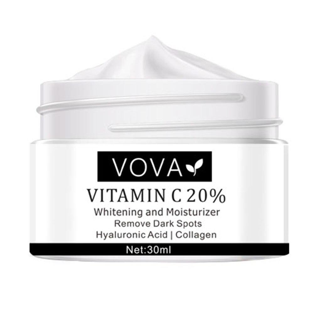 Крем для лица с витамином C, Осветляющий фотографический крем для лица, восстанавливающий Обесцвечивающий крем для лица, средство для удале...