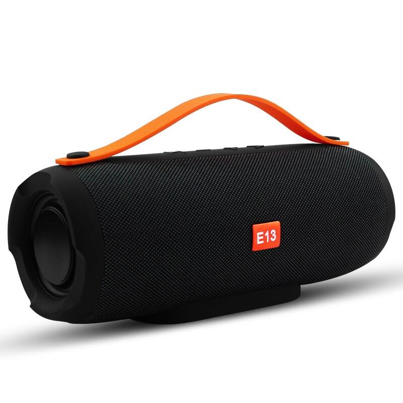 E13 ميكرفون بلوتوث محمول صغير ستيريو مكبر صوت راديو الموسيقى مضخم صوت العمود مكبرات الصوت للكمبيوتر مع TF FM