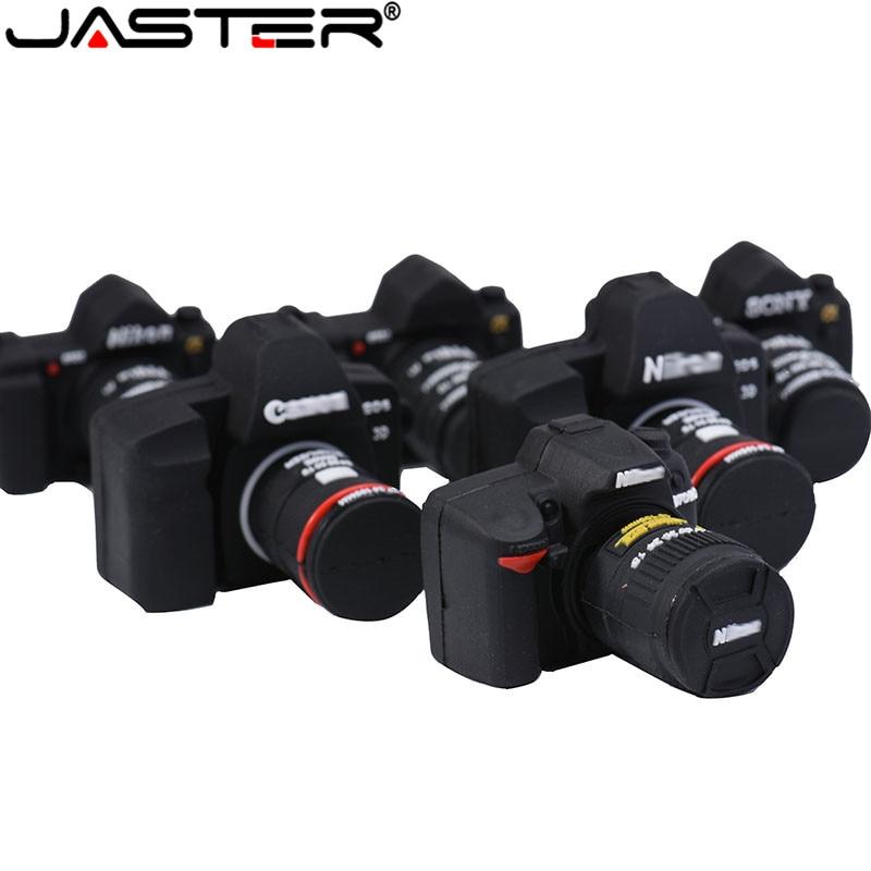 JASTER Creative U disk small camera model series usb flash drive usb 2.0 4GB/8GB/16GB/32GB/64GB/128GB flash memory U disk gift