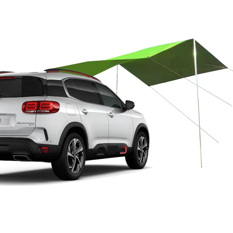 Parasol lateral para coche, Carpa Plegable a prueba de lluvia, toldo lateral...