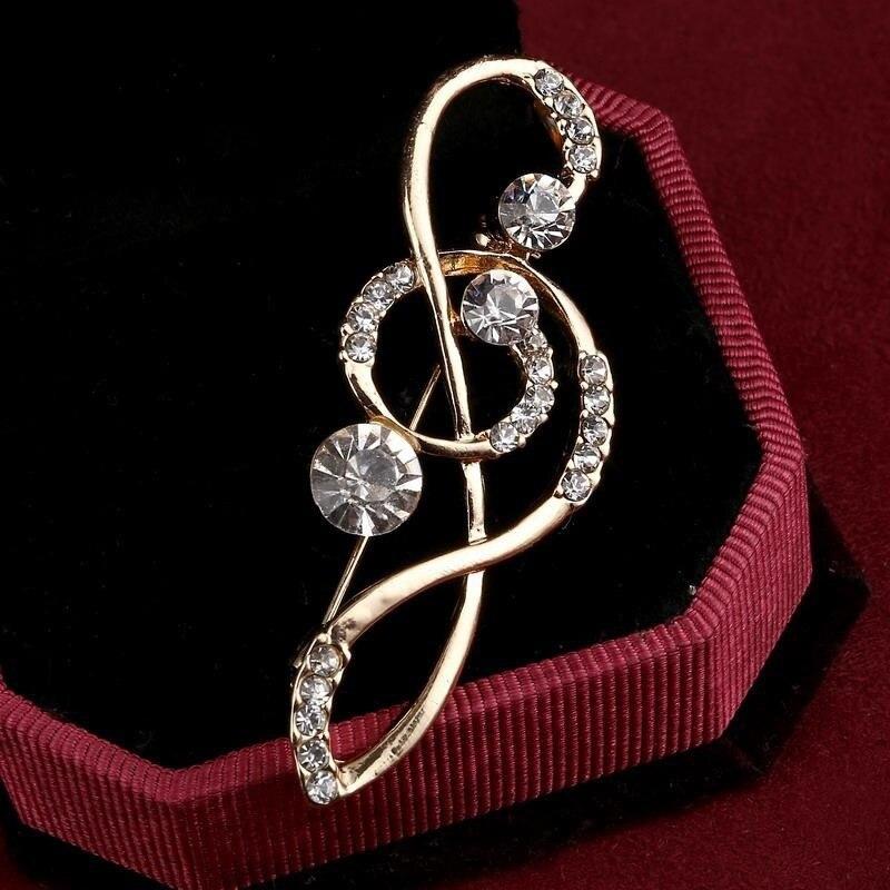 Versión coreana de las pequeñas notas frescas pasador bufanda hebilla abrigo accesorios temperamento flor diamantes de imitación broche Pin