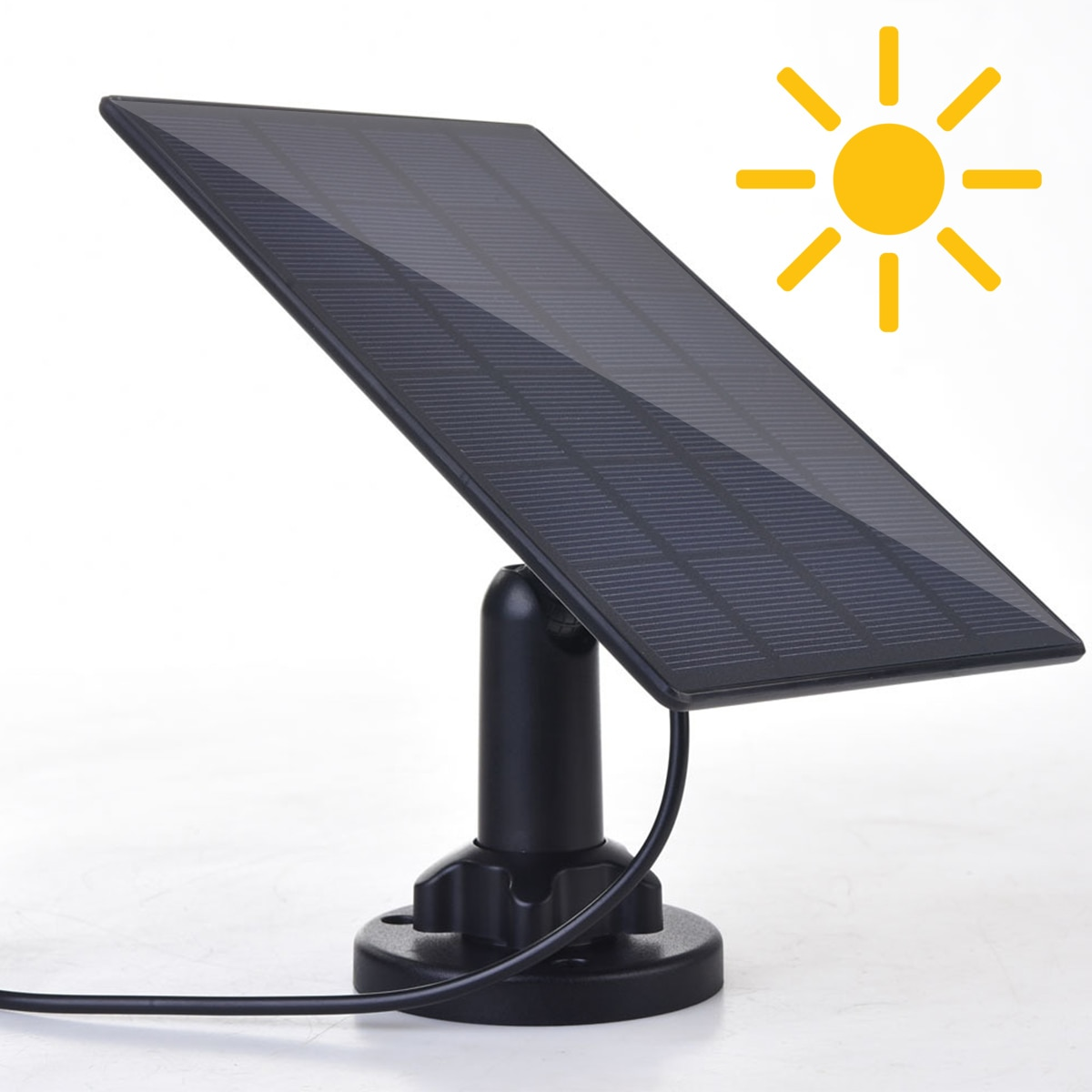 5V 3.5W waterproof Solar Panel Adjustable Solar Charger Pane Climbing Fast Charger Polysilicon For USB Port Camera