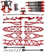 CNC usinage de précision suspension prolongée en métal avec ensemble de direction symétrique pour ROVAN ROFUN KM HPI BAJA 5B 5T 5SC