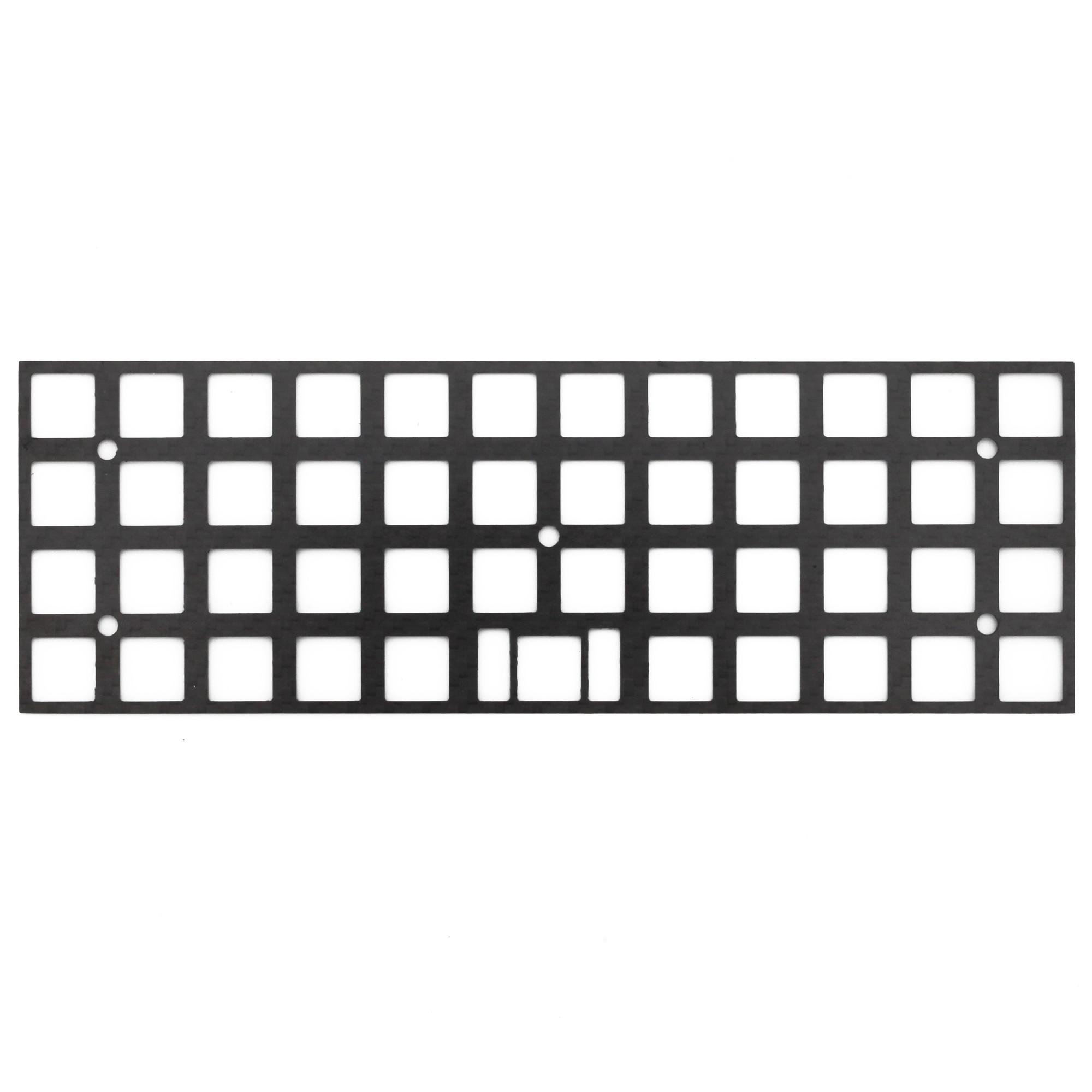 carbon fiber plate for JJ40 BM40 40% custom keyboard Mechanical Keyboard Plate support  mx edition