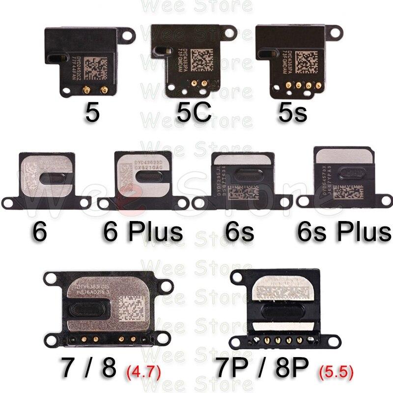 Auricular Original Flex para iPhone 6 6s 7 8 Plus 5 5S SE, auricular pequeño, Cable flexible